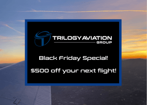 Black Friday Jet Charter Deal!
