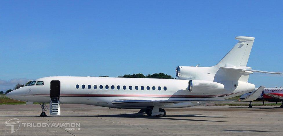 19 passenger private charter jet