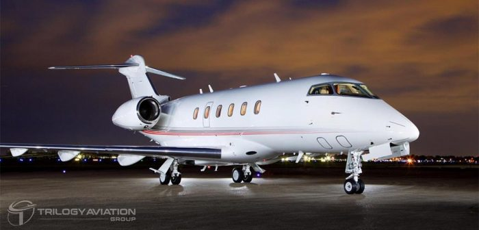 charter a challenger 300 private jet
