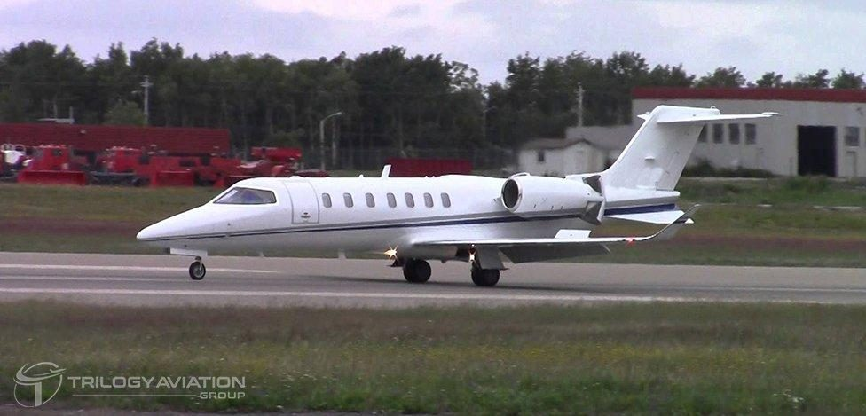 learjet private charter